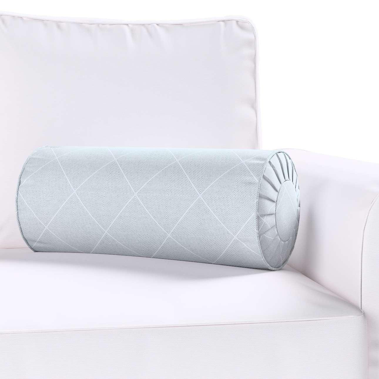 Poduszka wałek z zakładkami w kolekcji Venice, tkanina: 142-57