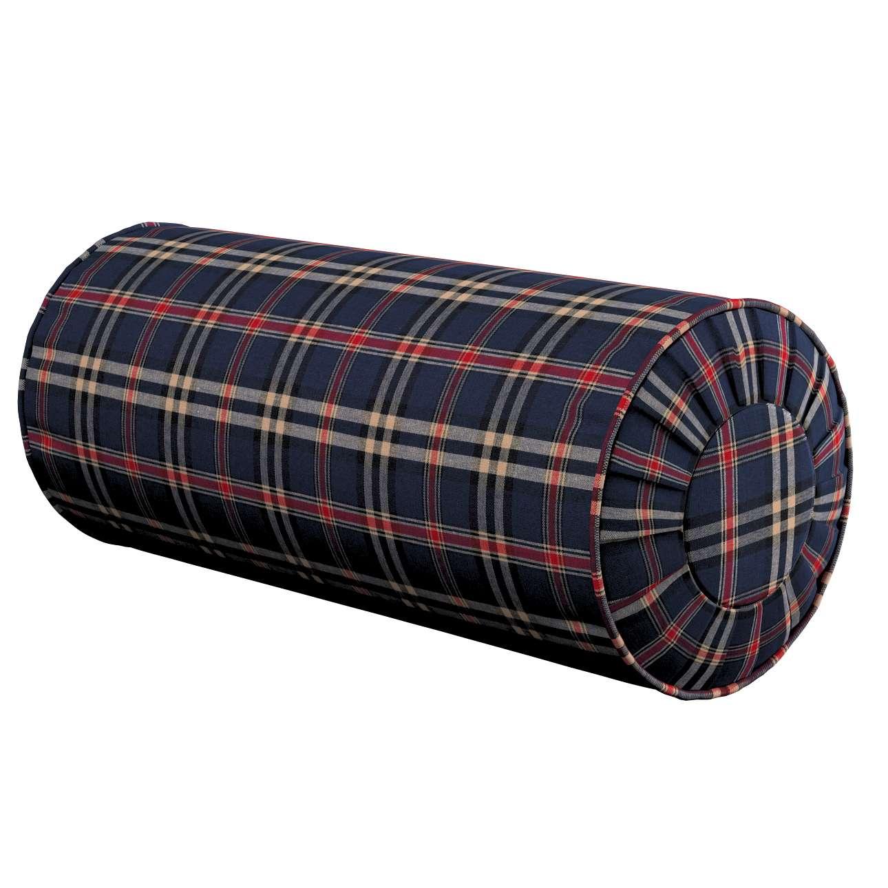 Poduszka wałek z zakładkami w kolekcji Bristol, tkanina: 142-68
