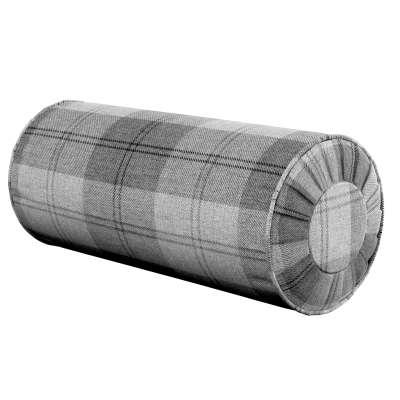 Nakkepude med folder fra kollektionen Edinburgh, Stof: 115-75