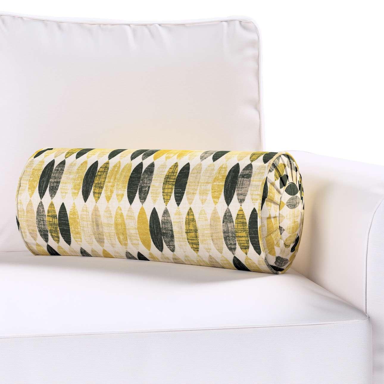 Poduszka wałek z zakładkami w kolekcji Modern, tkanina: 142-99
