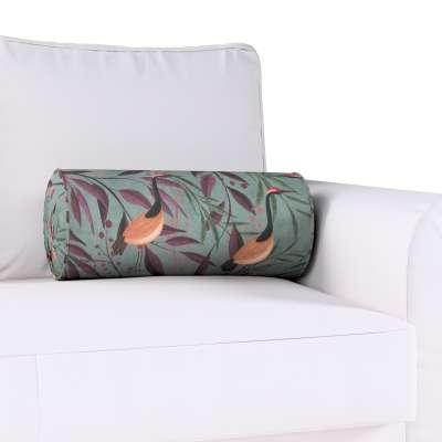 Poduszka wałek z zakładkami w kolekcji Abigail, tkanina: 143-11