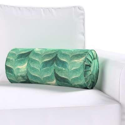 Poduszka wałek z zakładkami w kolekcji Abigail, tkanina: 143-16
