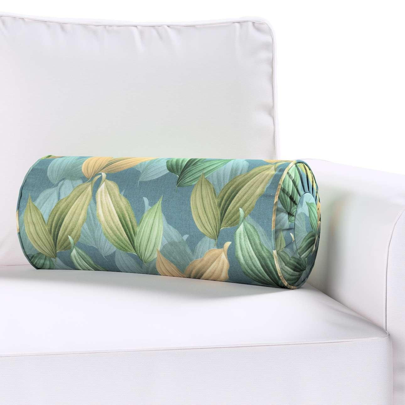 Poduszka wałek z zakładkami w kolekcji Abigail, tkanina: 143-20