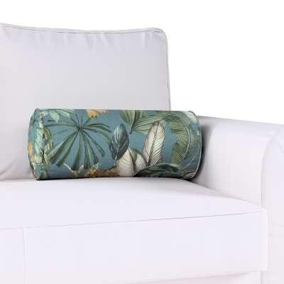 Poduszka wałek z zakładkami w kolekcji Abigail, tkanina: 143-24