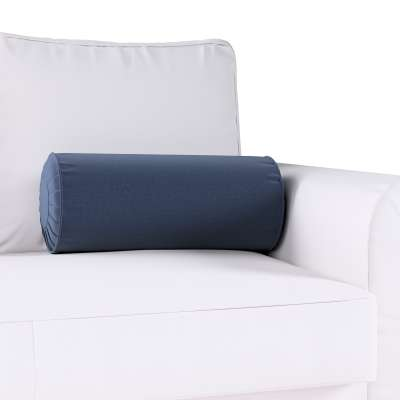 Poduszka wałek z zakładkami w kolekcji Ingrid, tkanina: 705-39