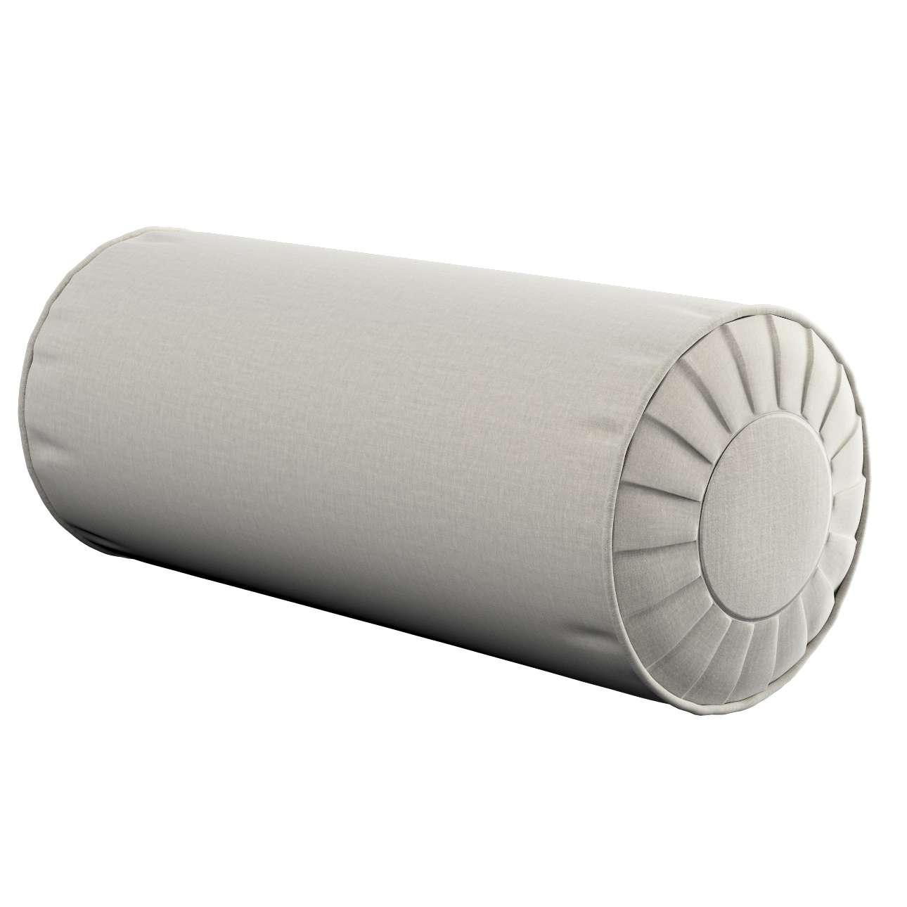 Poduszka wałek z zakładkami w kolekcji Ingrid, tkanina: 705-40