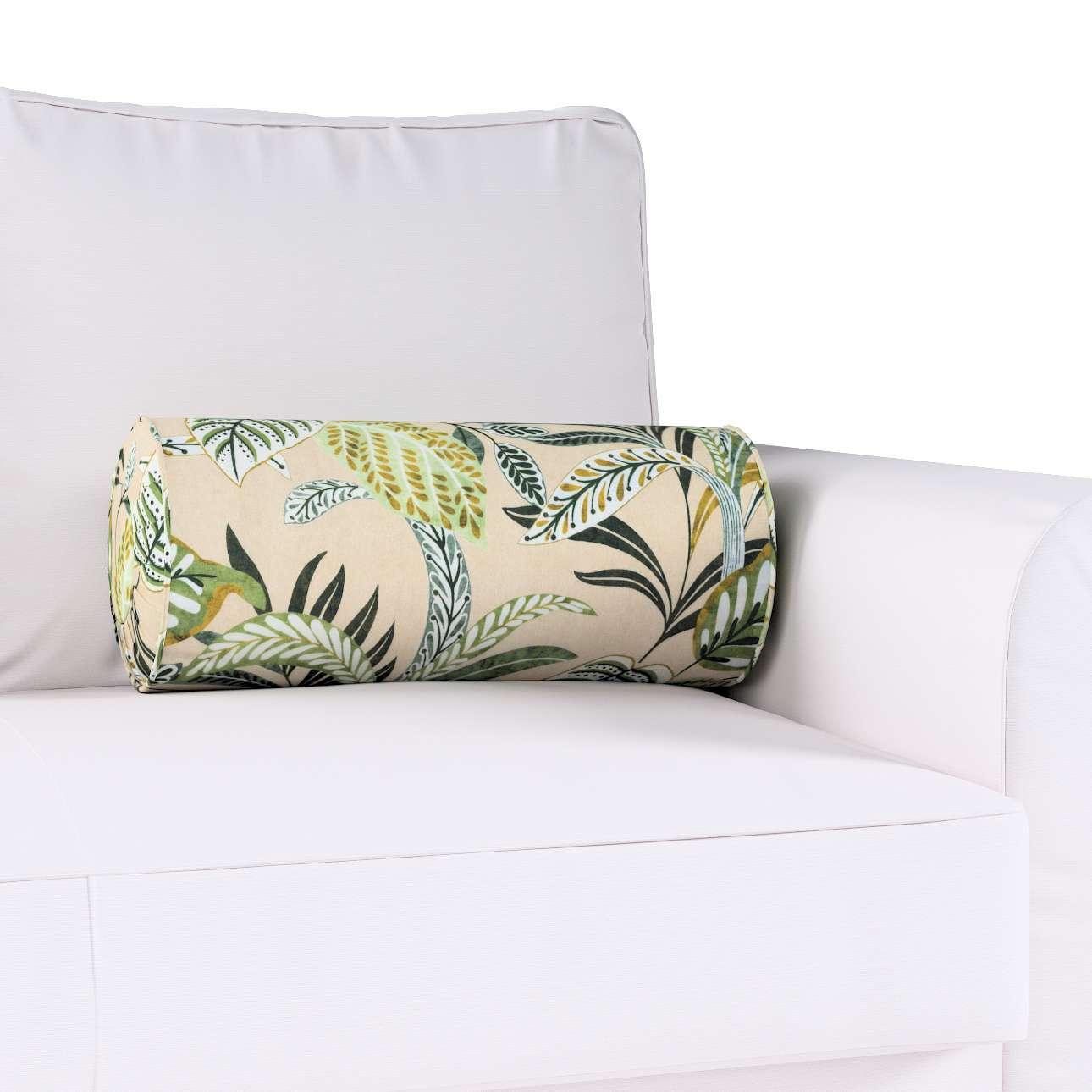 Poduszka wałek z zakładkami w kolekcji Tropical Island, tkanina: 142-96
