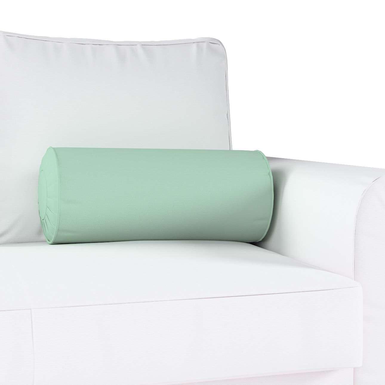 Poduszka wałek z zakładkami w kolekcji Loneta, tkanina: 133-61