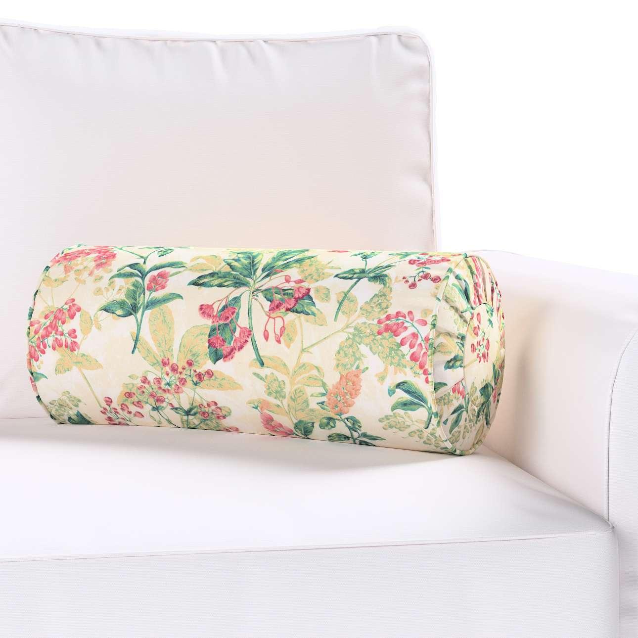 Poduszka wałek z zakładkami w kolekcji Londres, tkanina: 143-41