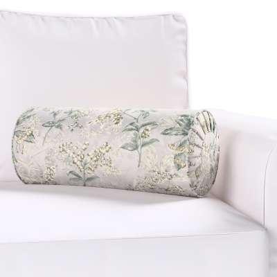 Poduszka wałek z zakładkami w kolekcji Londres, tkanina: 143-37