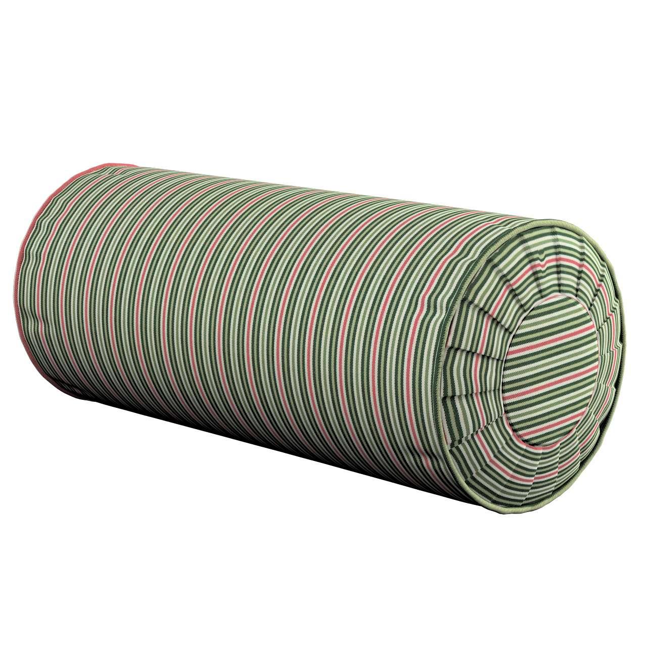 Poduszka wałek z zakładkami w kolekcji Londres, tkanina: 143-42