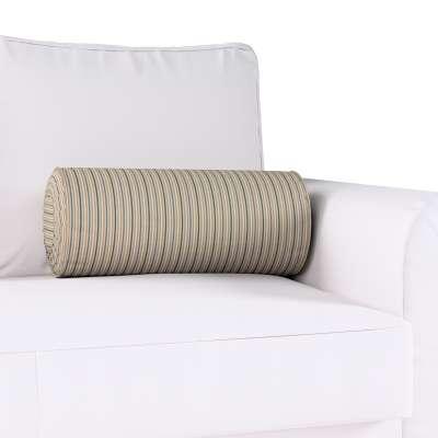 Poduszka wałek z zakładkami w kolekcji Londres, tkanina: 143-38