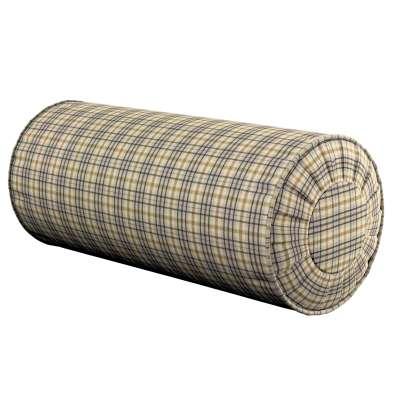 Poduszka wałek z zakładkami w kolekcji Londres, tkanina: 143-39