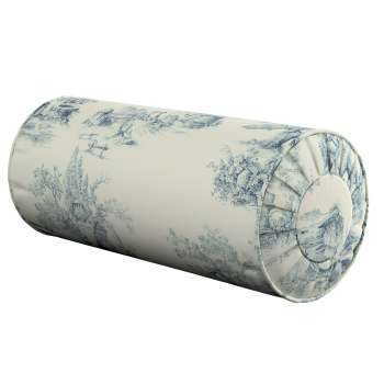 Poduszka wałek z zakładkami Ø 20 x 50 cm w kolekcji Avinon, tkanina: 132-66