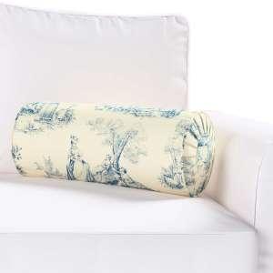 Ritinio formos  pagalvėlė su klostėmis Ø 20 x 50 cm kolekcijoje Avinon, audinys: 132-66