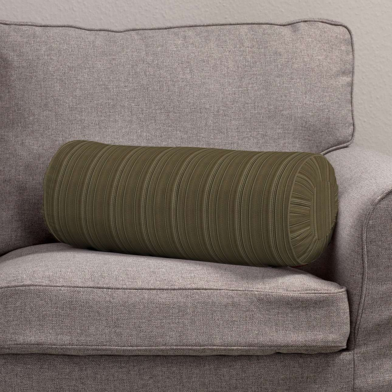 Bolster cushion with pleats in collection SALE, fabric: 411-53