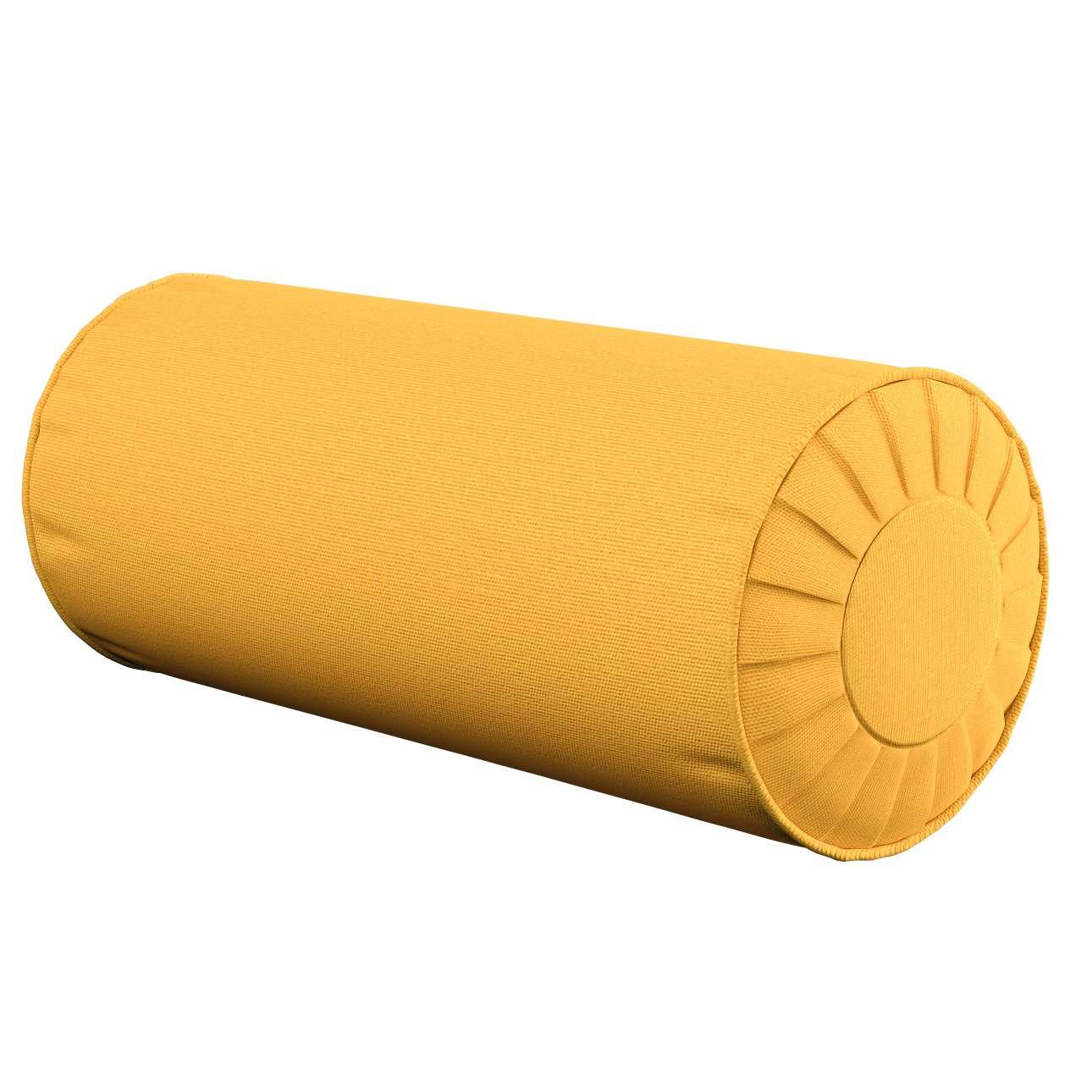 Poduszka wałek z zakładkami w kolekcji Loneta, tkanina: 133-40