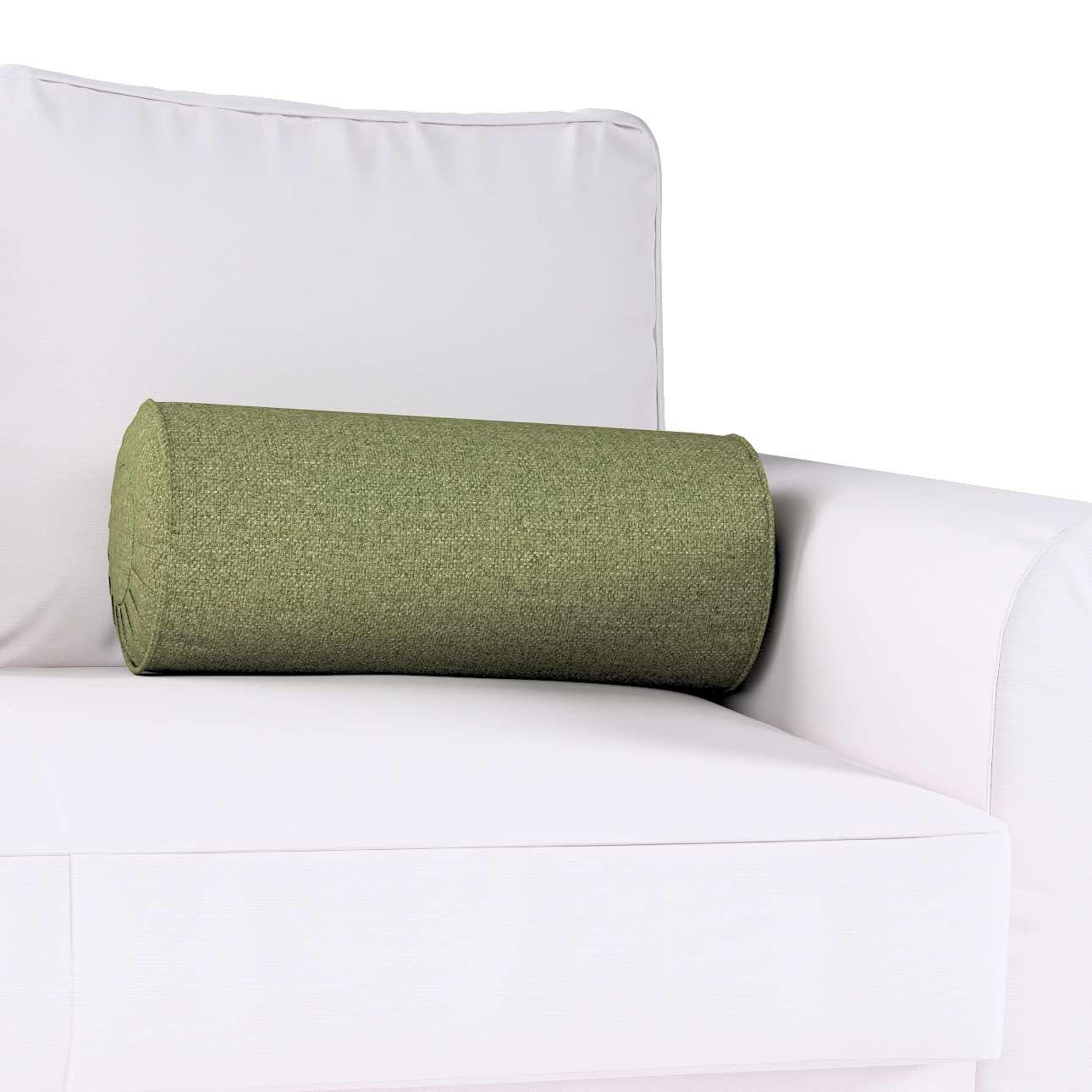 Poduszka wałek z zakładkami w kolekcji Madrid, tkanina: 161-22