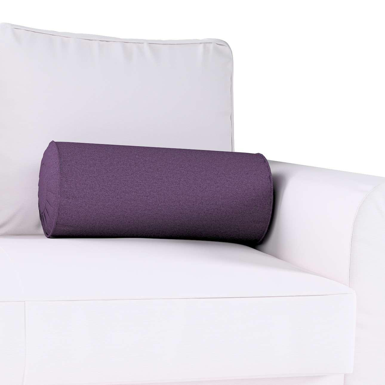 Poduszka wałek z zakładkami w kolekcji Etna, tkanina: 161-27
