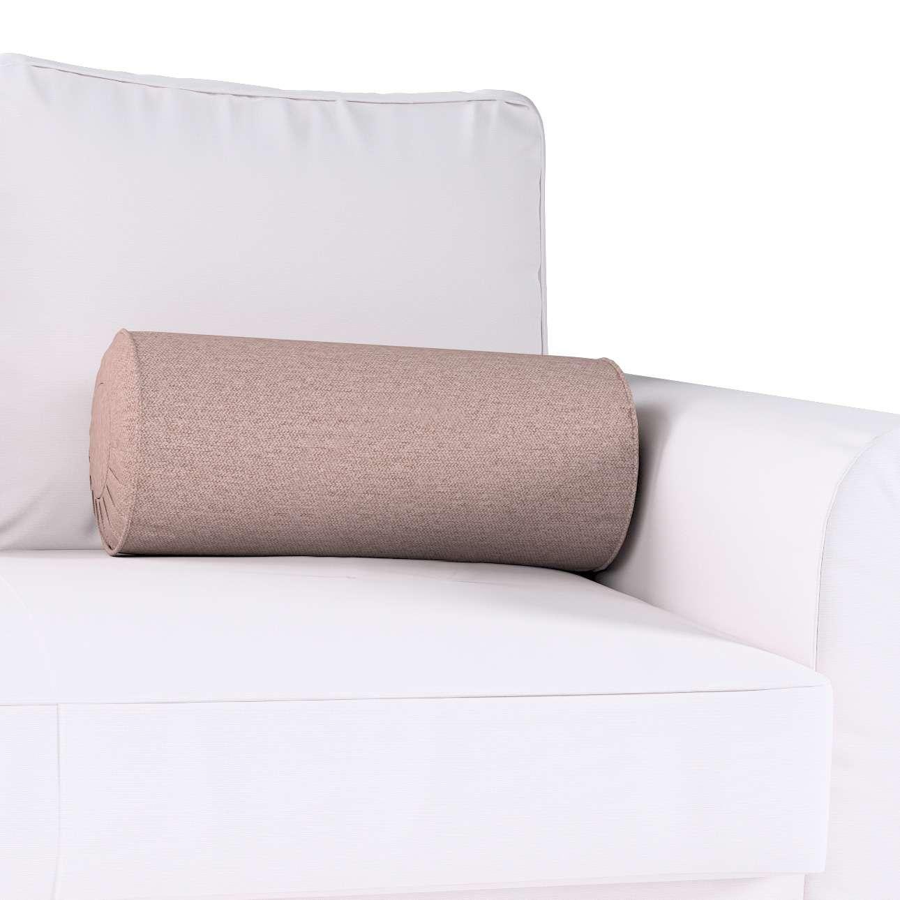 Poduszka wałek z zakładkami w kolekcji Madrid, tkanina: 161-88