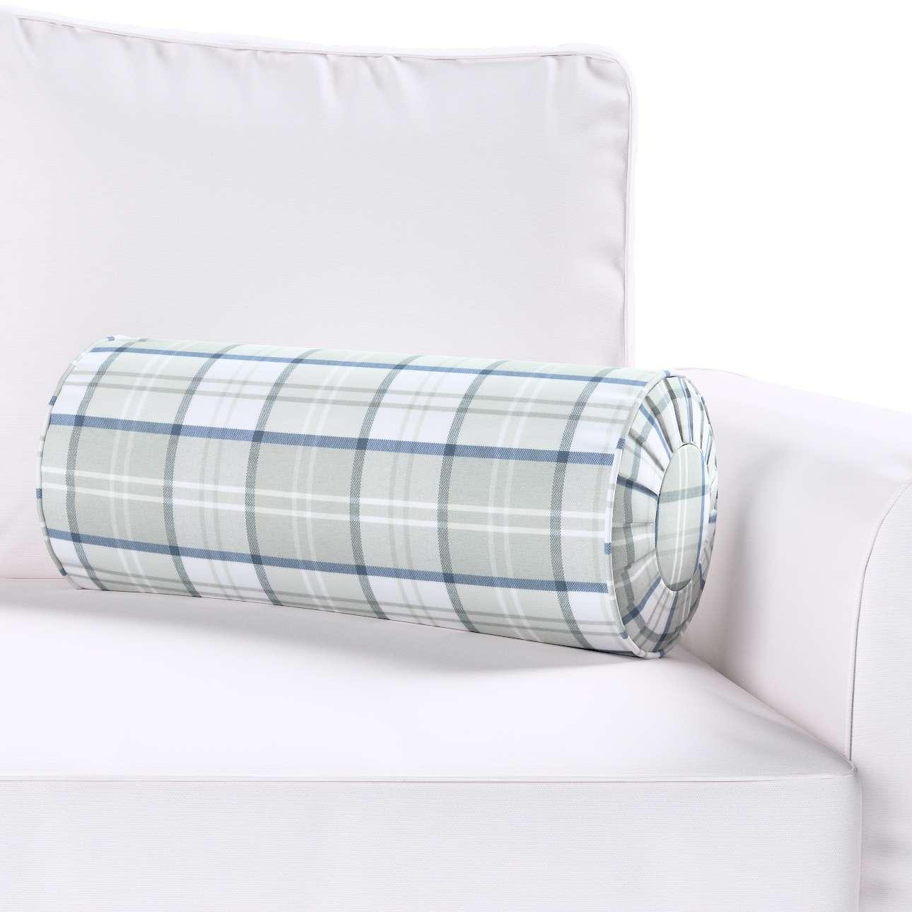 Poduszka wałek z zakładkami w kolekcji Bristol, tkanina: 143-65