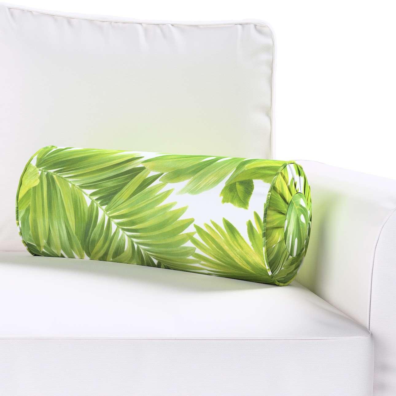 Poduszka wałek z zakładkami w kolekcji Tropical Island, tkanina: 143-63
