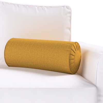 Bolster cushion with pleats 704-82 honey chenille Collection City