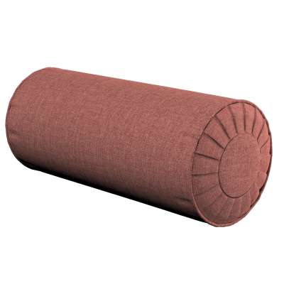 Bolster cushion with pleats 704-84 brown-cognac Collection City
