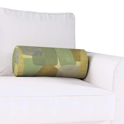 Poduszka wałek z zakładkami w kolekcji Vintage 70's, tkanina: 143-72