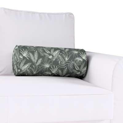 Poduszka wałek z zakładkami w kolekcji Flowers, tkanina: 143-73