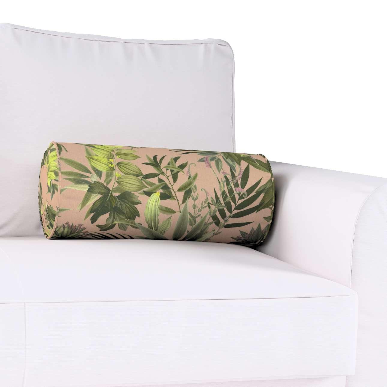 Poduszka wałek z zakładkami w kolekcji Tropical Island, tkanina: 143-71