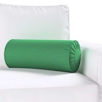 Bolster cushion with pleats 133-18 dark green Collection Christmas