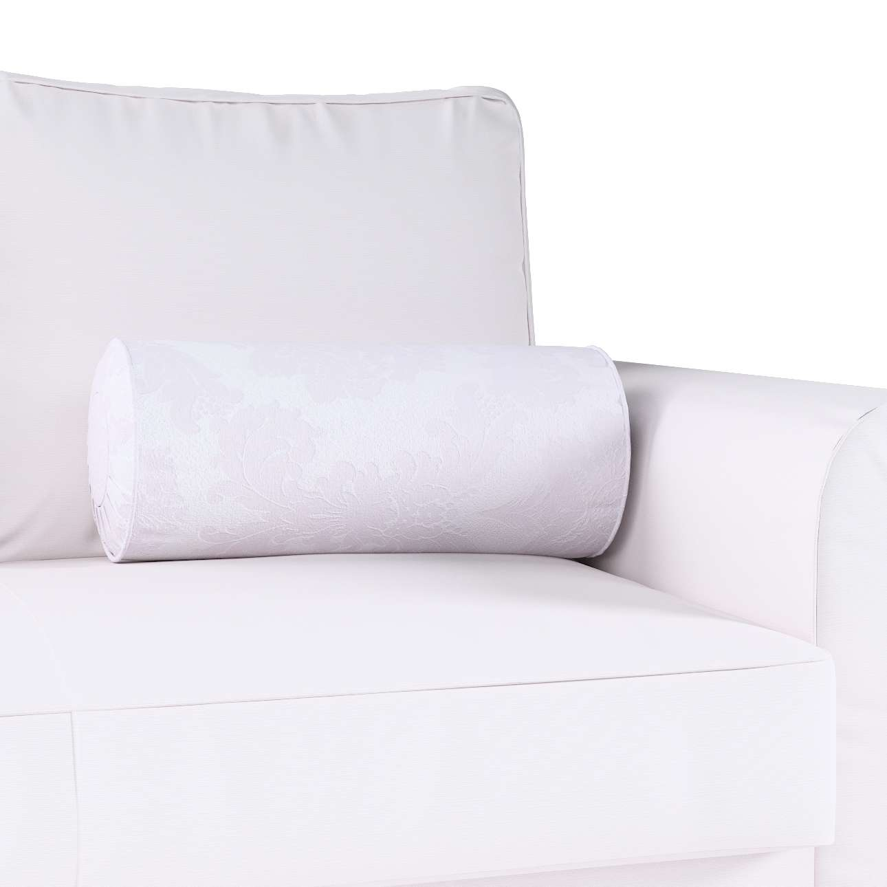 Bolster cushion with pleats in collection Damasco, fabric: 613-00