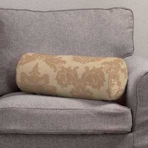 Ritinio formos  pagalvėlės užvalkalas su klostėmis Ø 20 x 50 cm kolekcijoje Damasco, audinys: 613-04