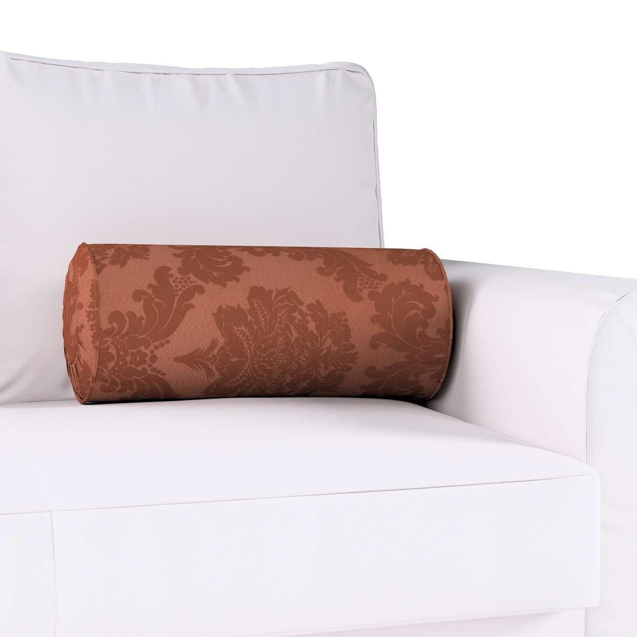 Ritinio formos  pagalvėlė su klostėmis kolekcijoje Damasco, audinys: 613-88