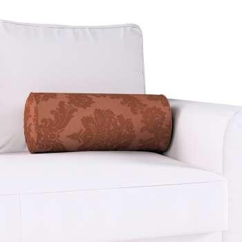 Poduszka wałek z zakładkami Ø20x50cm w kolekcji Damasco, tkanina: 613-88