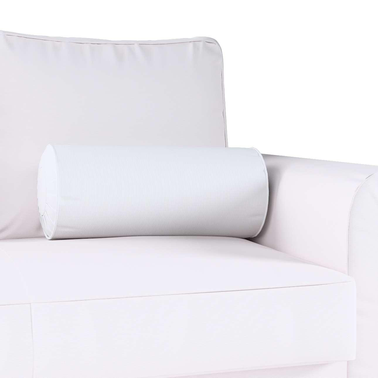 Ritinio formos  pagalvėlė su klostėmis Ø 20 x 50 cm kolekcijoje Jupiter, audinys: 127-01