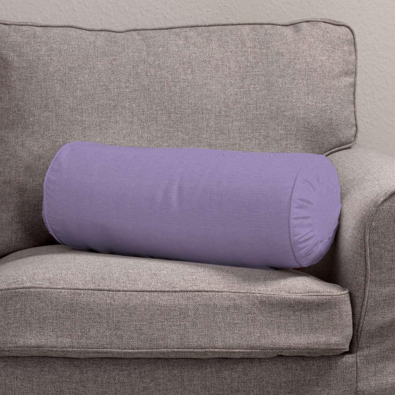 Ritinio formos  pagalvėlės užvalkalas su klostėmis Ø 20 x 50 cm kolekcijoje Jupiter, audinys: 127-74