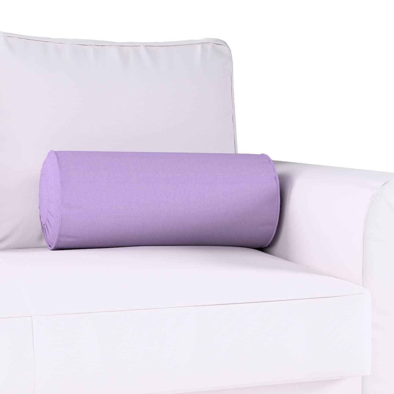 Ritinio formos  pagalvėlė su klostėmis Ø 20 x 50 cm kolekcijoje Jupiter, audinys: 127-74
