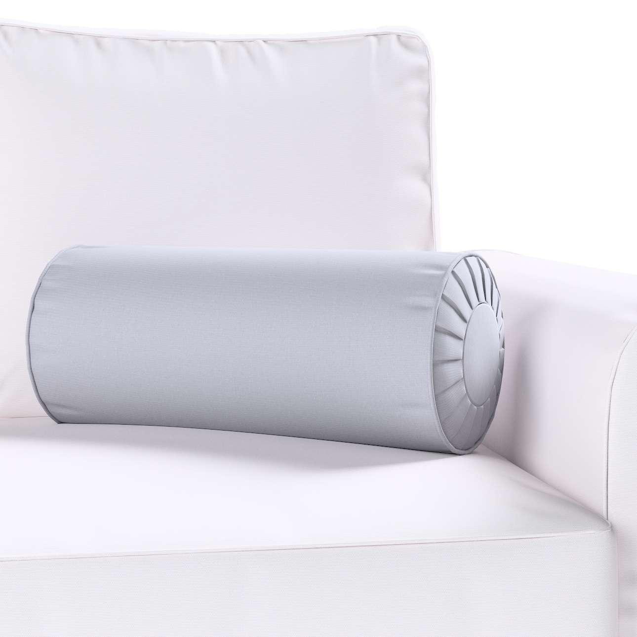 Ritinio formos  pagalvėlė su klostėmis Ø 20 x 50 cm kolekcijoje Jupiter, audinys: 127-92
