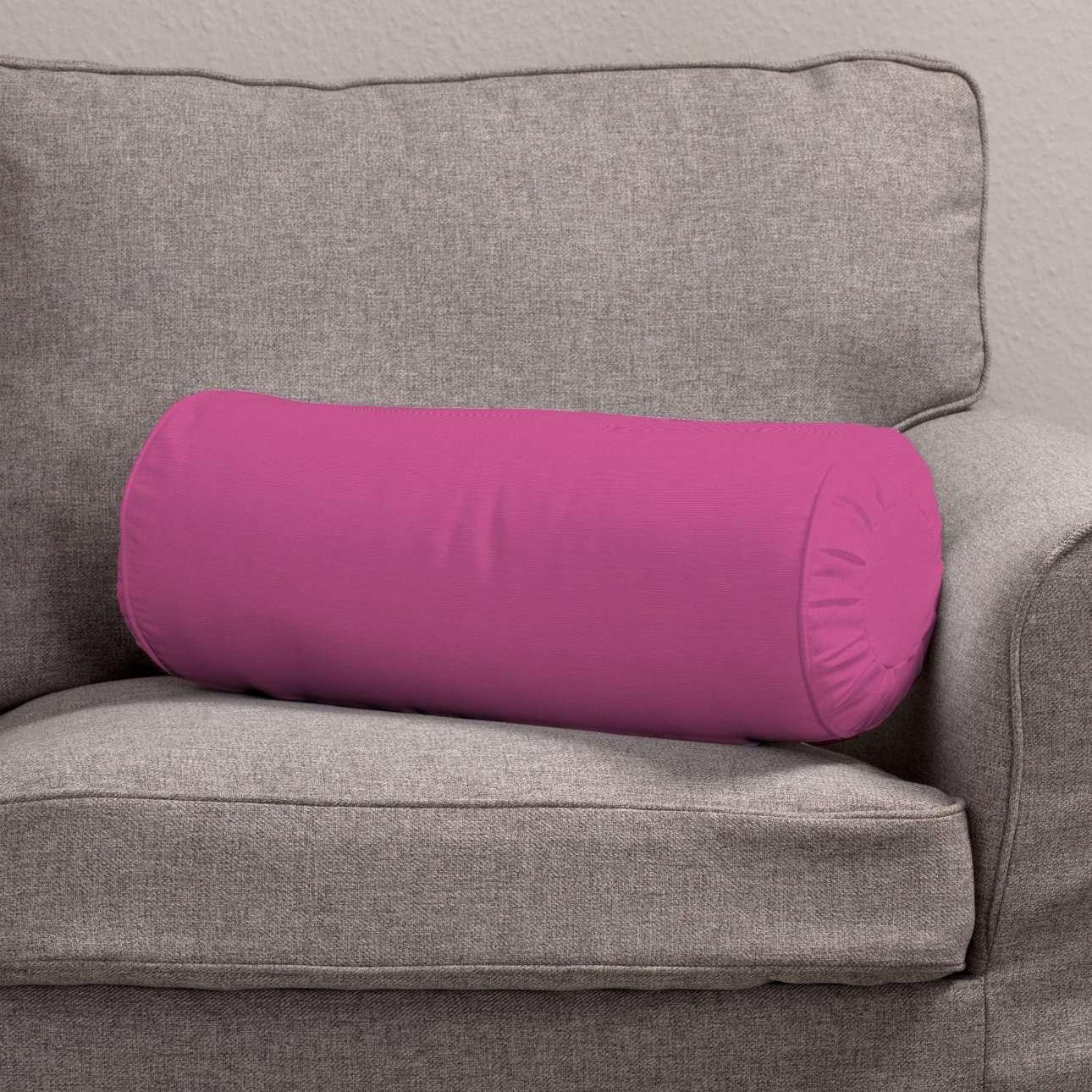 Ritinio formos  pagalvėlės užvalkalas su klostėmis Ø 20 x 50 cm kolekcijoje Jupiter, audinys: 127-24