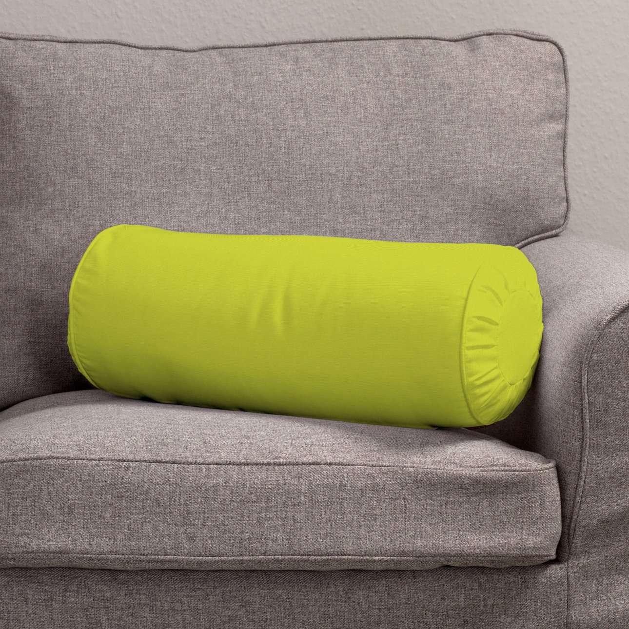 Ritinio formos  pagalvėlė su klostėmis Ø 20 x 50 cm kolekcijoje Jupiter, audinys: 127-50