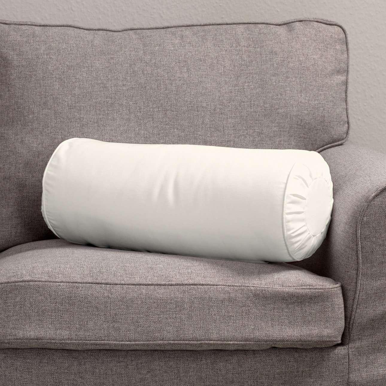 Ritinio formos  pagalvėlė su klostėmis Ø 20 x 50 cm kolekcijoje Jupiter, audinys: 127-00
