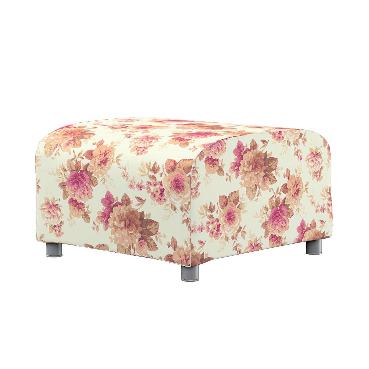 KLIPPAN pufo užvalkalas Klippan footstool cover kolekcijoje Mirella, audinys: 141-06