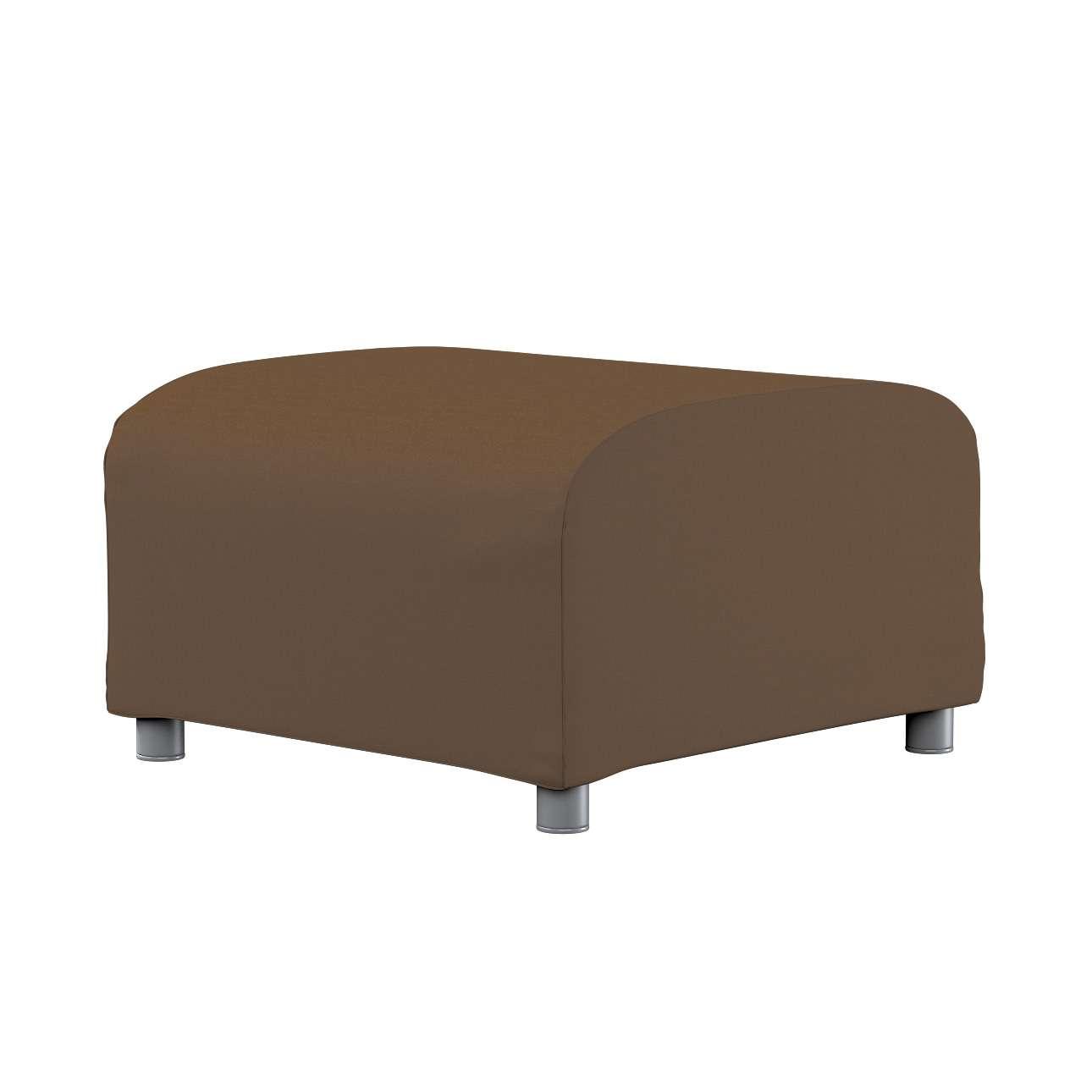 KLIPPAN pufo užvalkalas Klippan footstool cover kolekcijoje Cotton Panama, audinys: 702-02