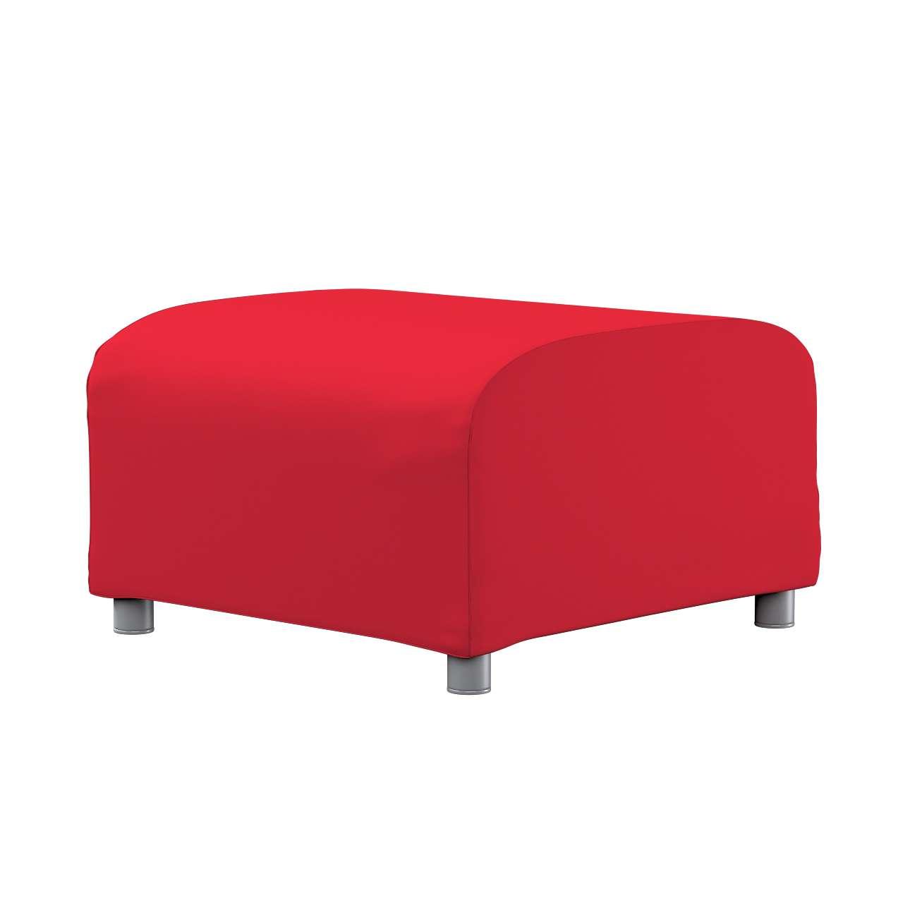 KLIPPAN pufo užvalkalas Klippan footstool cover kolekcijoje Cotton Panama, audinys: 702-04