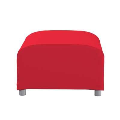 Klippan betræk fodskammel 702-04 Rød Kollektion Cotton Panama