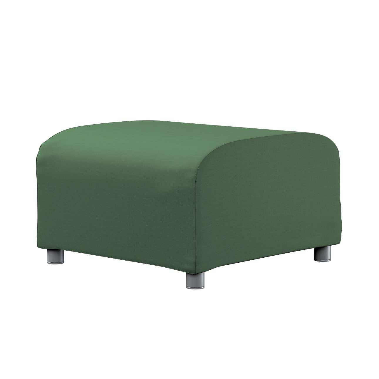 KLIPPAN pufo užvalkalas Klippan footstool cover kolekcijoje Cotton Panama, audinys: 702-06