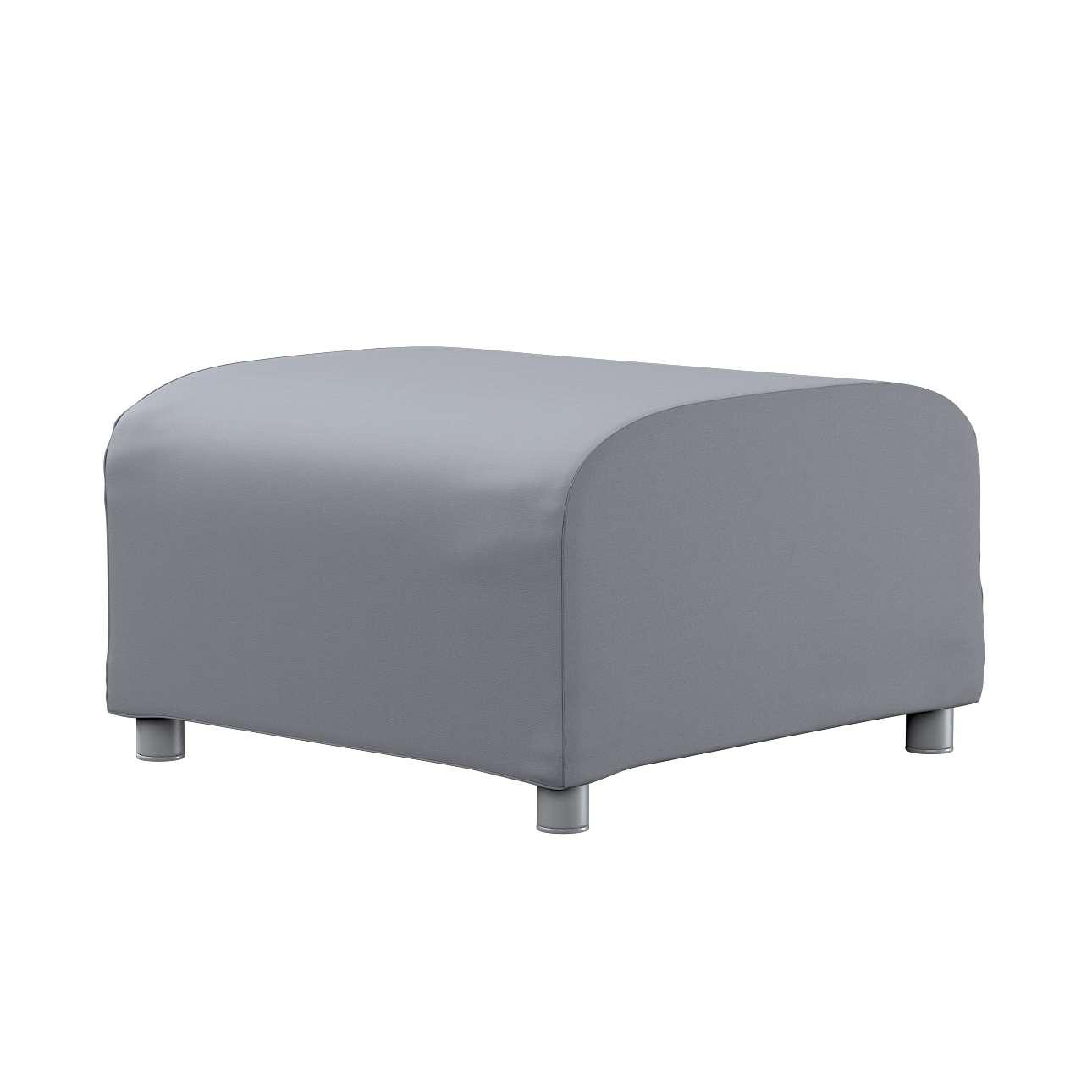 KLIPPAN pufo užvalkalas Klippan footstool cover kolekcijoje Cotton Panama, audinys: 702-07