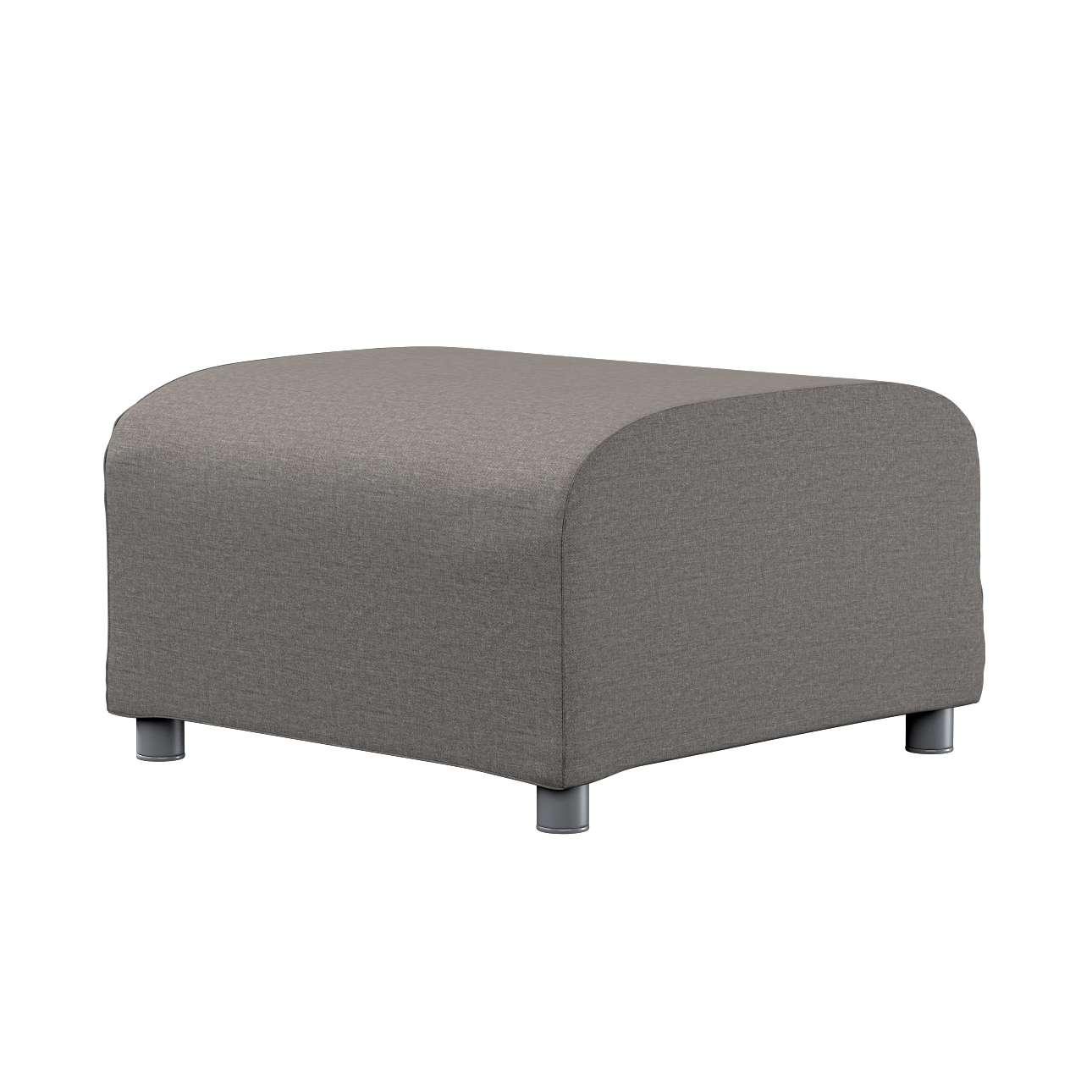 KLIPPAN pufo užvalkalas Klippan footstool cover kolekcijoje Edinburgh , audinys: 115-77